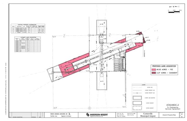 Centerville Airport plans